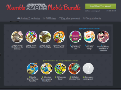 Humble Mobile Bundle z grami od Cartoon Network