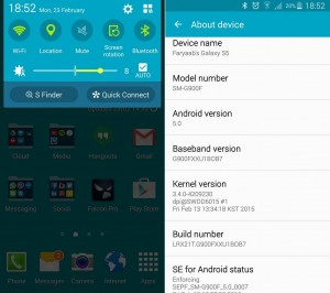 samsung galaxy s5 lollipop mute