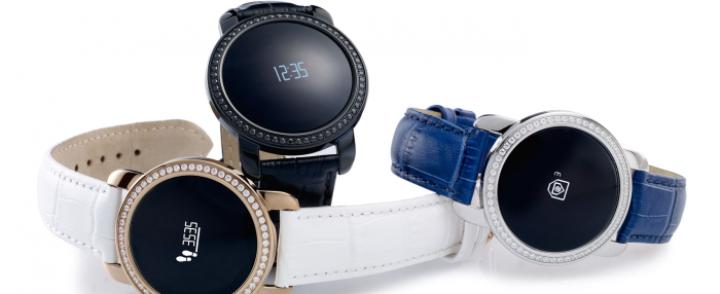 MyKronoz ZeCircle: smartwatch z cyrkoniami od Swarovskiego
