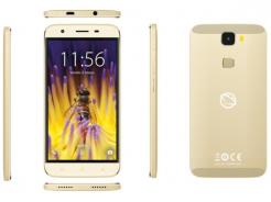 Manta Quad Titan MSP95009 Bee – elegancki smartfon w najmodniejszym kolorze złota.