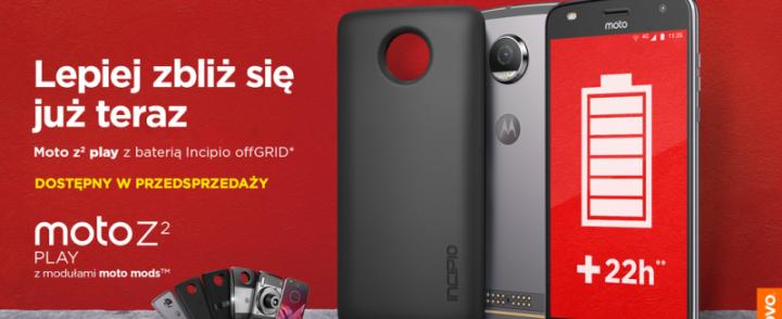 Rusza przedsprzedaż nowego smartfona Motorola Moto Z2 Play