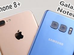iPhone 8 przy Samsungu Galaxy Note 8 – który bardziej przypadnie Wam do gustu?